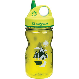 Nalgene Everyday Grip-n-Gulp Borraccia 350ml Bambino, yellow trail
